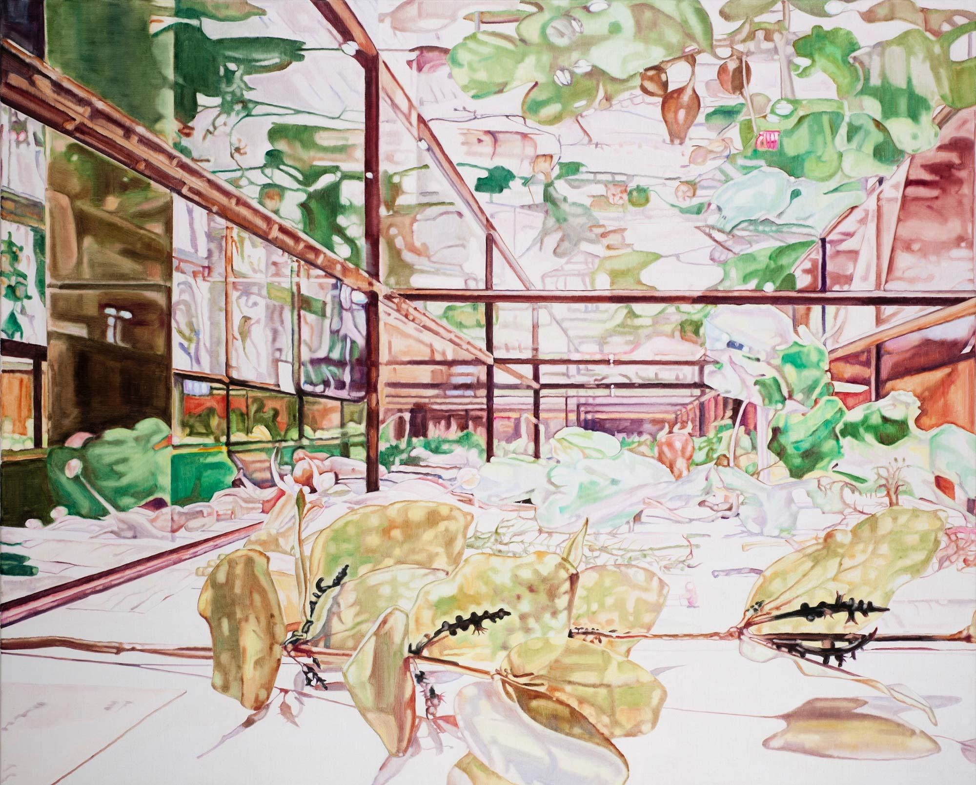 Glass Garden #18 , 2012 76 x 97cm oil on linen