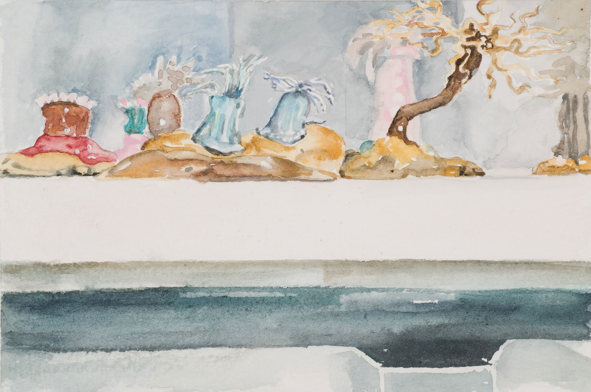 Glass Menagerie #6 , 2008 10 x 14.5cm watercolour