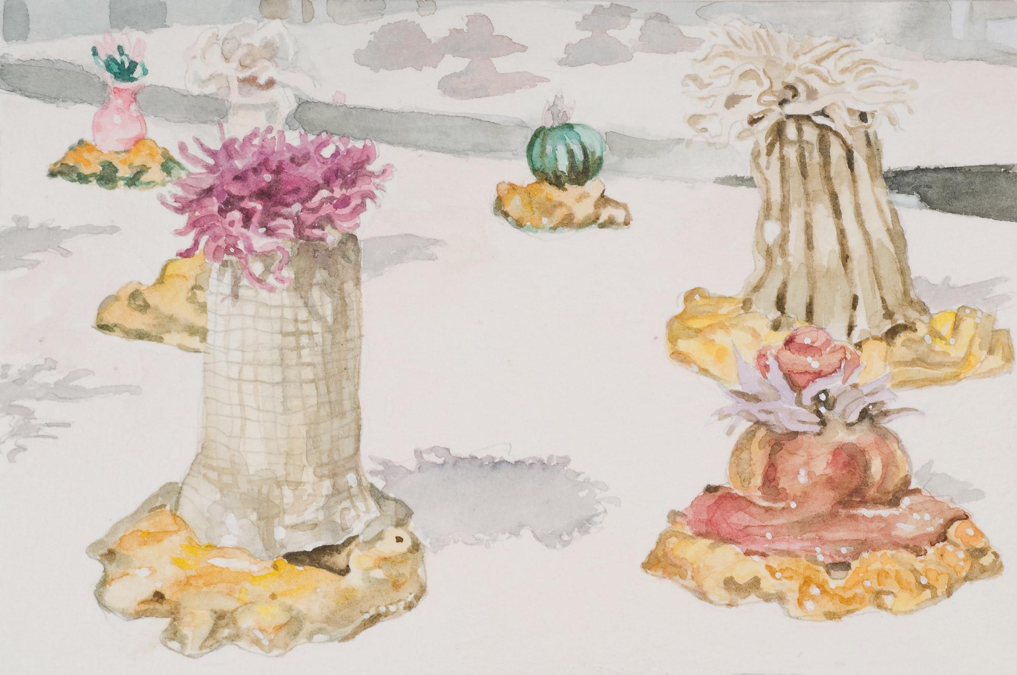 Glass Menagerie #3 , 2008 10 x 14.5cm watercolour