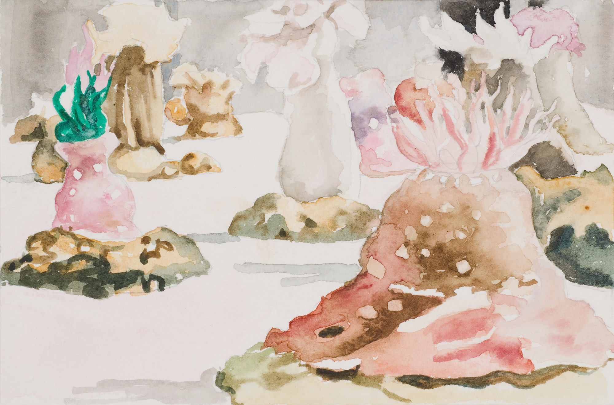 Glass Menagerie #4 , 2008 10 x 14.5cm watercolour