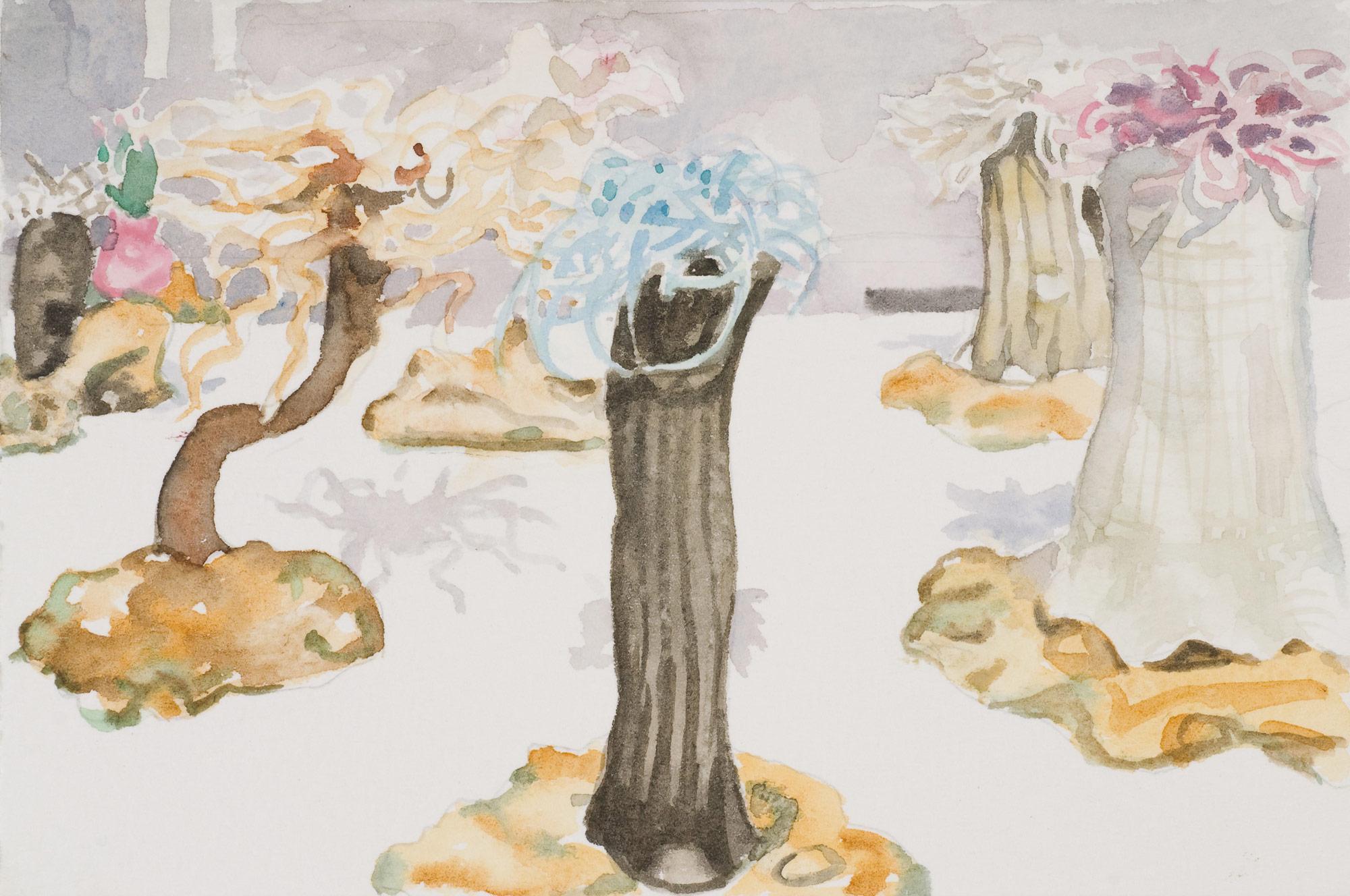 Glass Menagerie #2 , 2008 10 x 14.5cm watercolour
