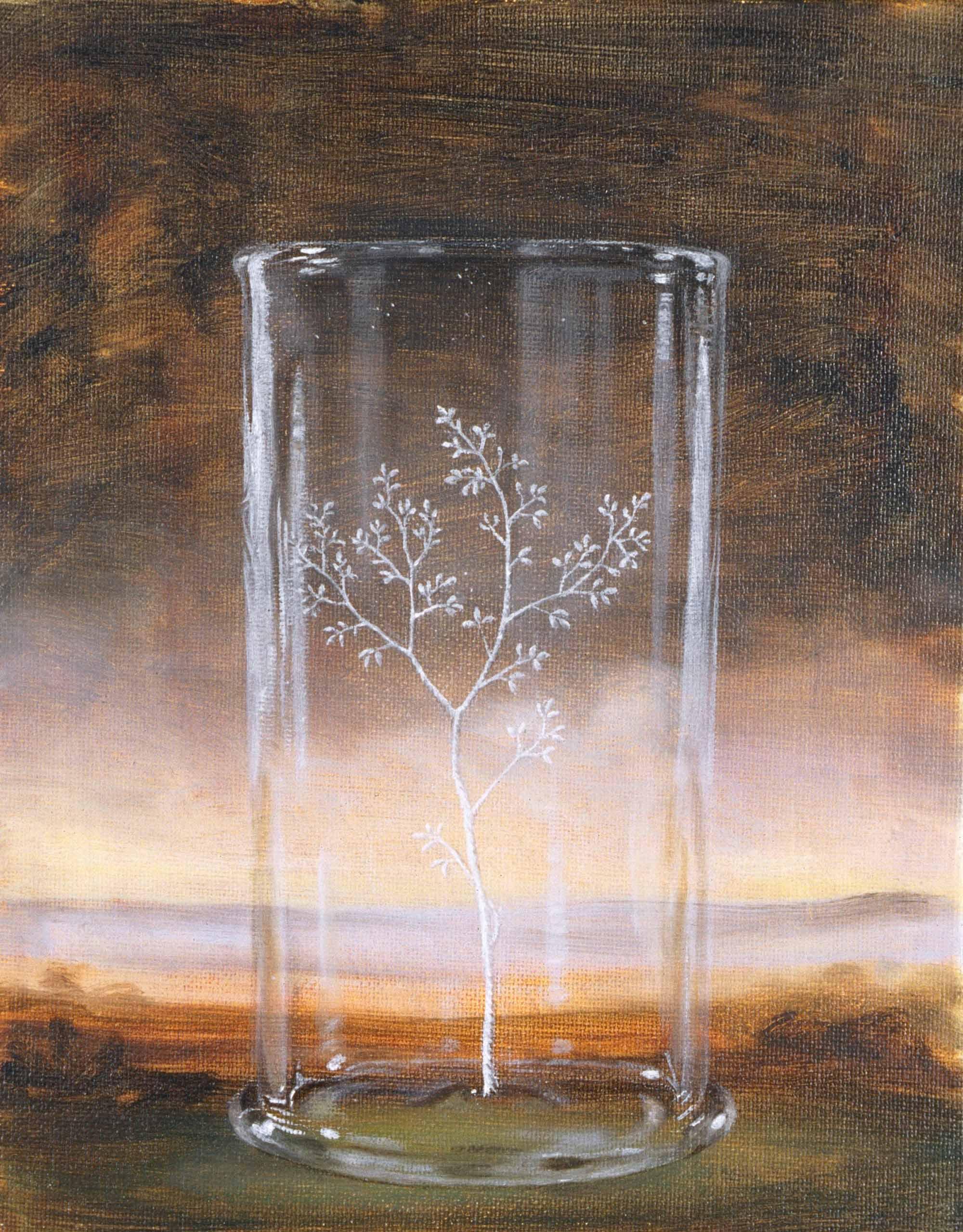 Beaker , 2000 25 x 20cm oil on linen