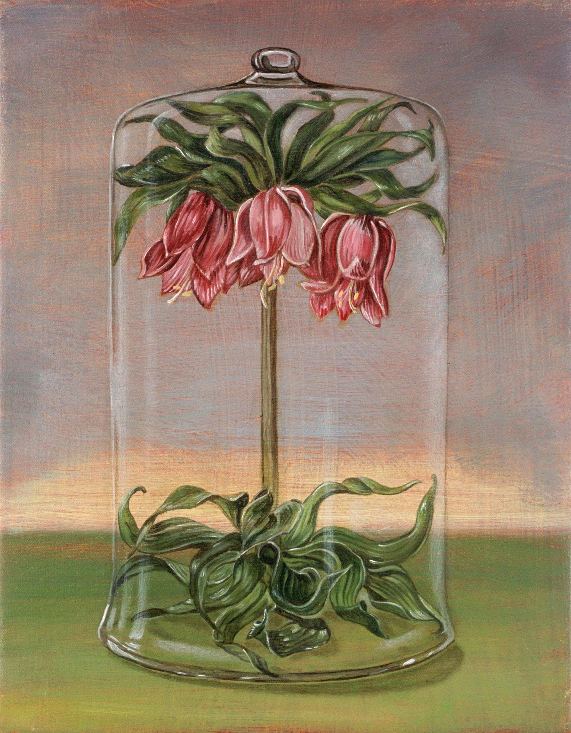 Forcing Jar , 2004 25 x 20cm oil on linen