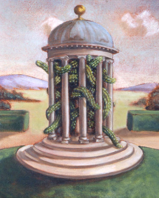Rotunda , 2000 30 x 25cm oil on linen