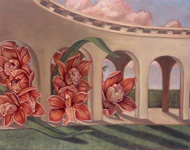 Loggia , 2004 41 x 51cm oil on linen