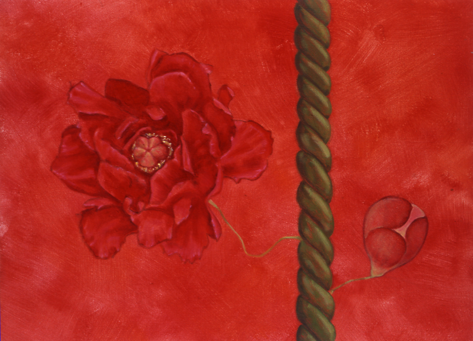 Nectar , 2003 32 x 36cm oil on linen