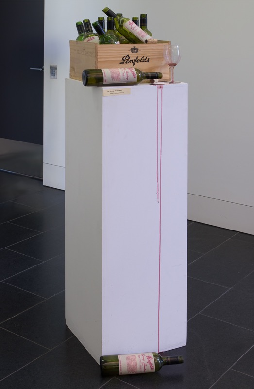Dena Kahan with Michele Burder and Amanda Johnson  In Modern Memory , (installation shot) La Trobe University Visual Arts Centre, Bendigo, 2008