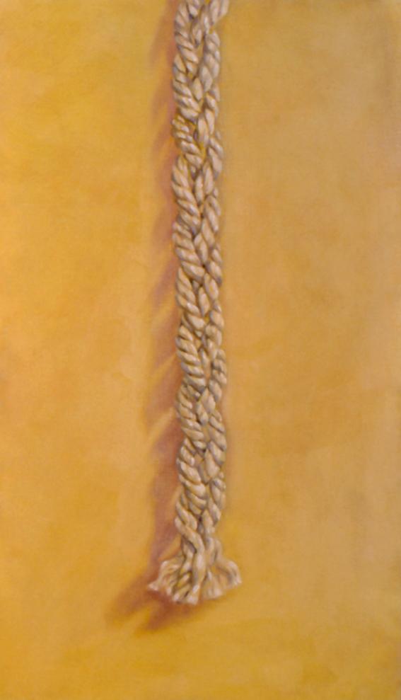 Golden Braid,  1997 oil on linen