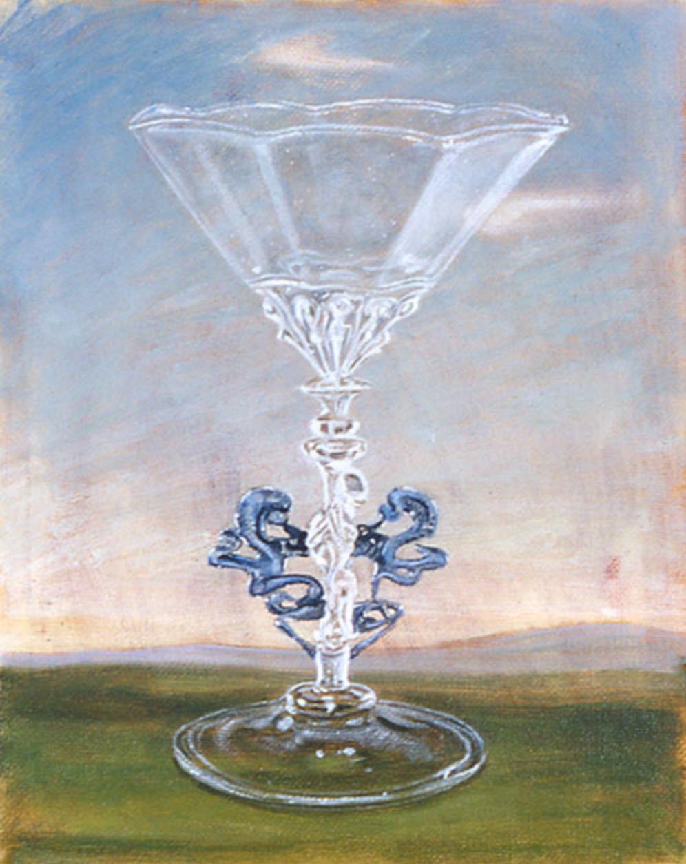 Venetian Glass , 2004 25 x 20cm oil on linen