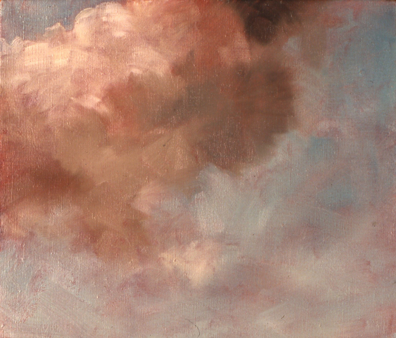 Looking Up  (detail), 1993 30 x 36cm oil on linen