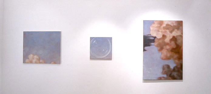 New Paintings  (installation shot), 2002
