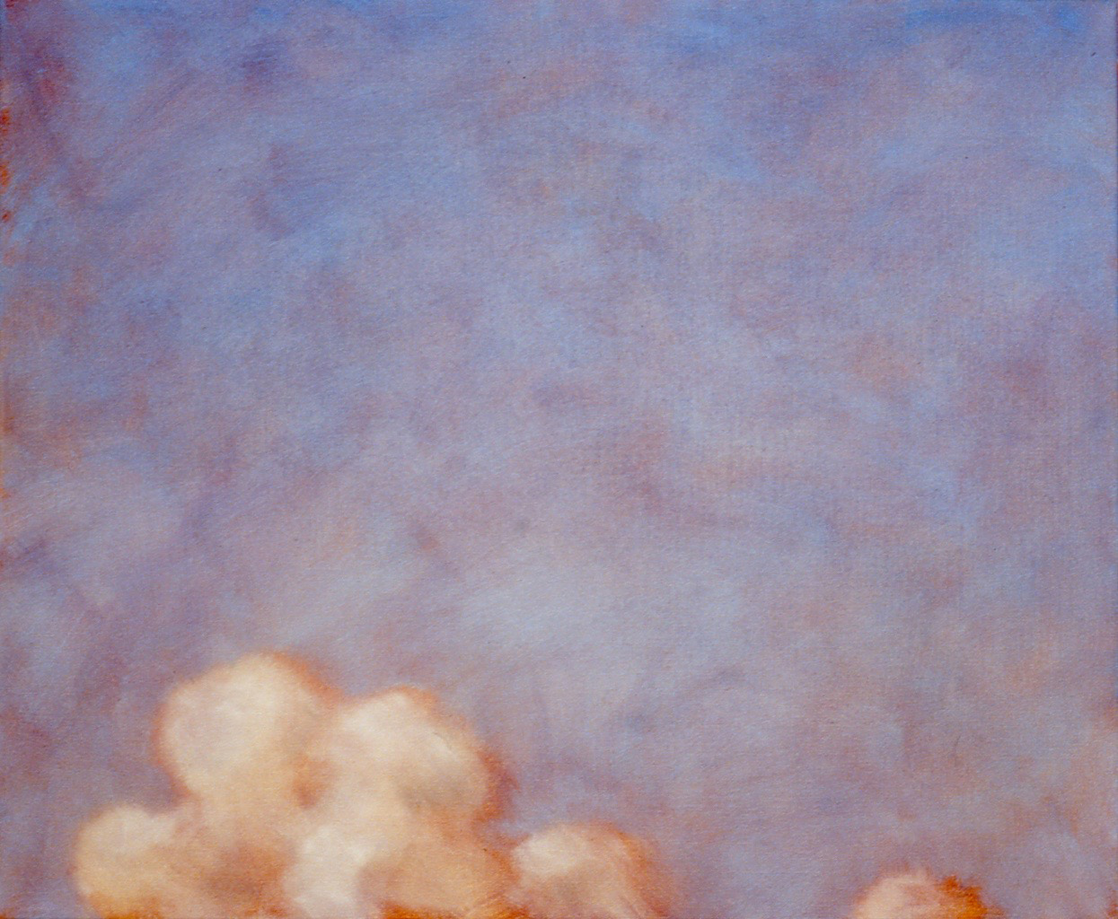 Looking Up  (detail), 1993 oil on linen