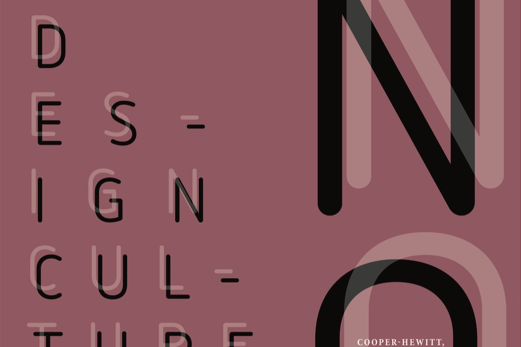 Design Culture - An event poster for the Cooper-Hewitt Museum