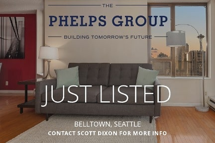 Just Listed! Come see this condo in the heart of Belltown. Enjoy views of the Space Needle from your balcony or peek-a-boo views of Elliott Bay from the Club Room outdoor space. It's a must see!  Join us for a broker's open on Friday from 11-1pm. Public open this weekend from 12-2pm. 2201 3rd Ave #1005 | Seattle 1 bed | 1 bath | 567 square feet  Offered at $418,000 MLS# 1468979 @soldbyscottdixon . . . . . . . #JustListed #SoldbyScottDixon #condoliving #condo #seattlerealestate #seattle #spaceneedle #views #rsir #phelpsrealestategroup
