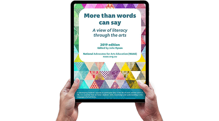 More than words can say on tablet