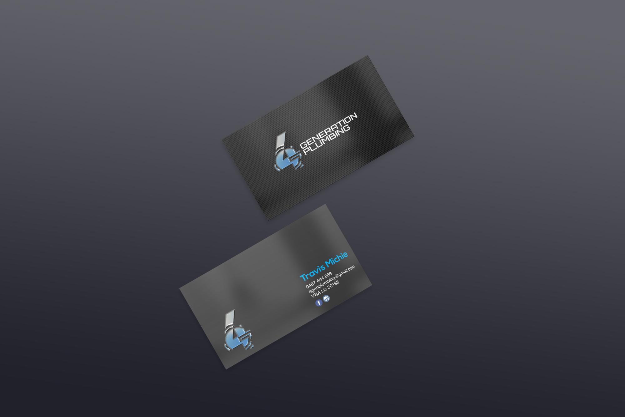 Business card design, Shop now!