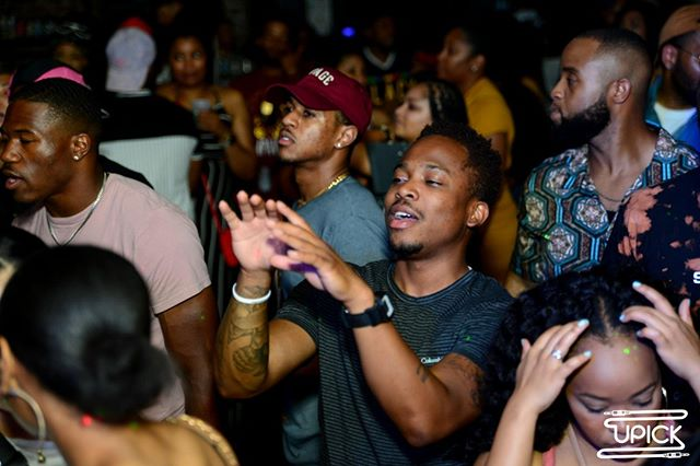 The face you make after your shot goes in at #UPickDC R&B Edition 😏  ____ Hot Girl Summer is officially over, the temperature has dropped, and City Boys have retired. It's that season again 👀 ____ #UPickDC returns with a special R&B Edition - Welcome to Cuffing Season! The perfect setlist curated with YOUR requests as you ride into cuffing season on October 4! ____ The concept - You Pick It, We Play It. Simple! Our live request wall updates as the request pour in! See who is at the party & what is being requested in real-time! @DJNiteCrawler on the 1s & 2s.  ____ [Link In Bio - Limited Free RSVPs]
