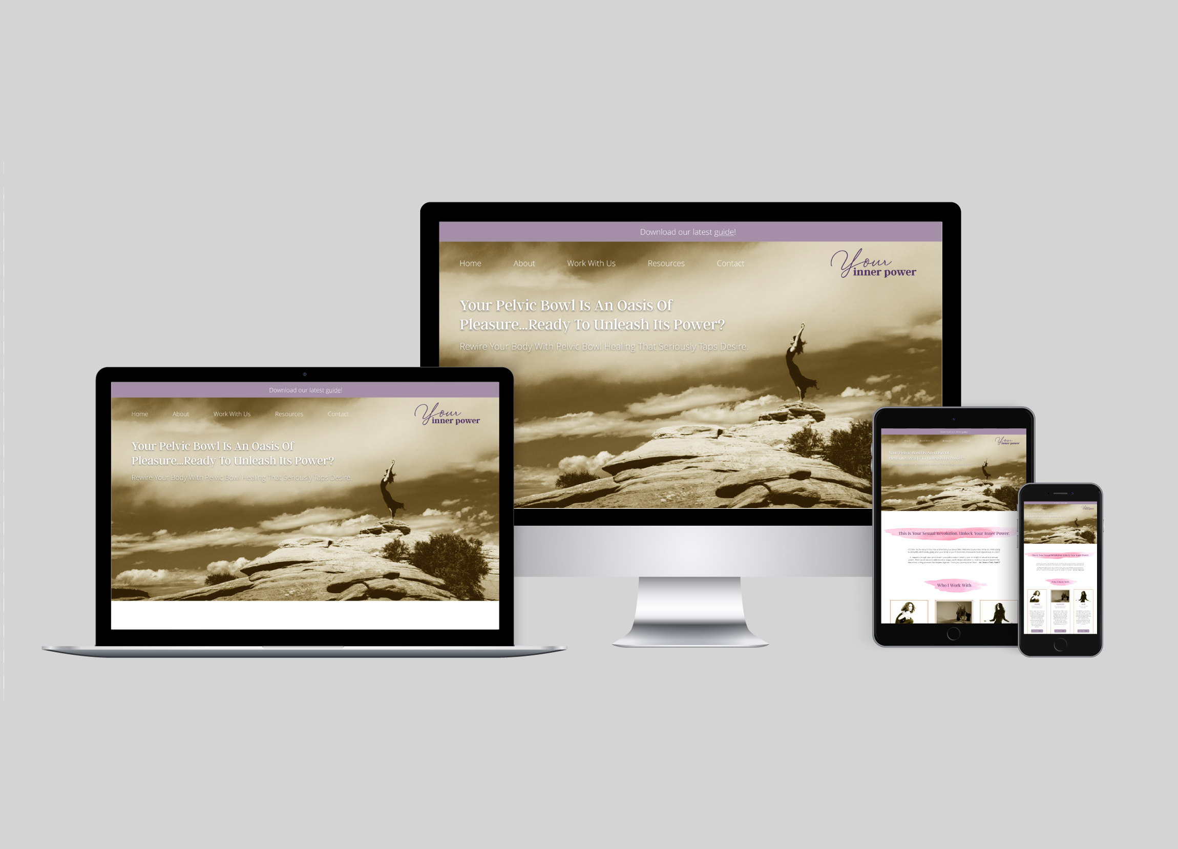 Alicia Patterson Case Study - As a part of the Business Bravery agency, I did the front end design for AliciaPatterson's website.