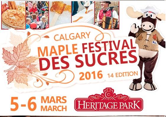 2016 Calgary Maple Festival des Sucres
