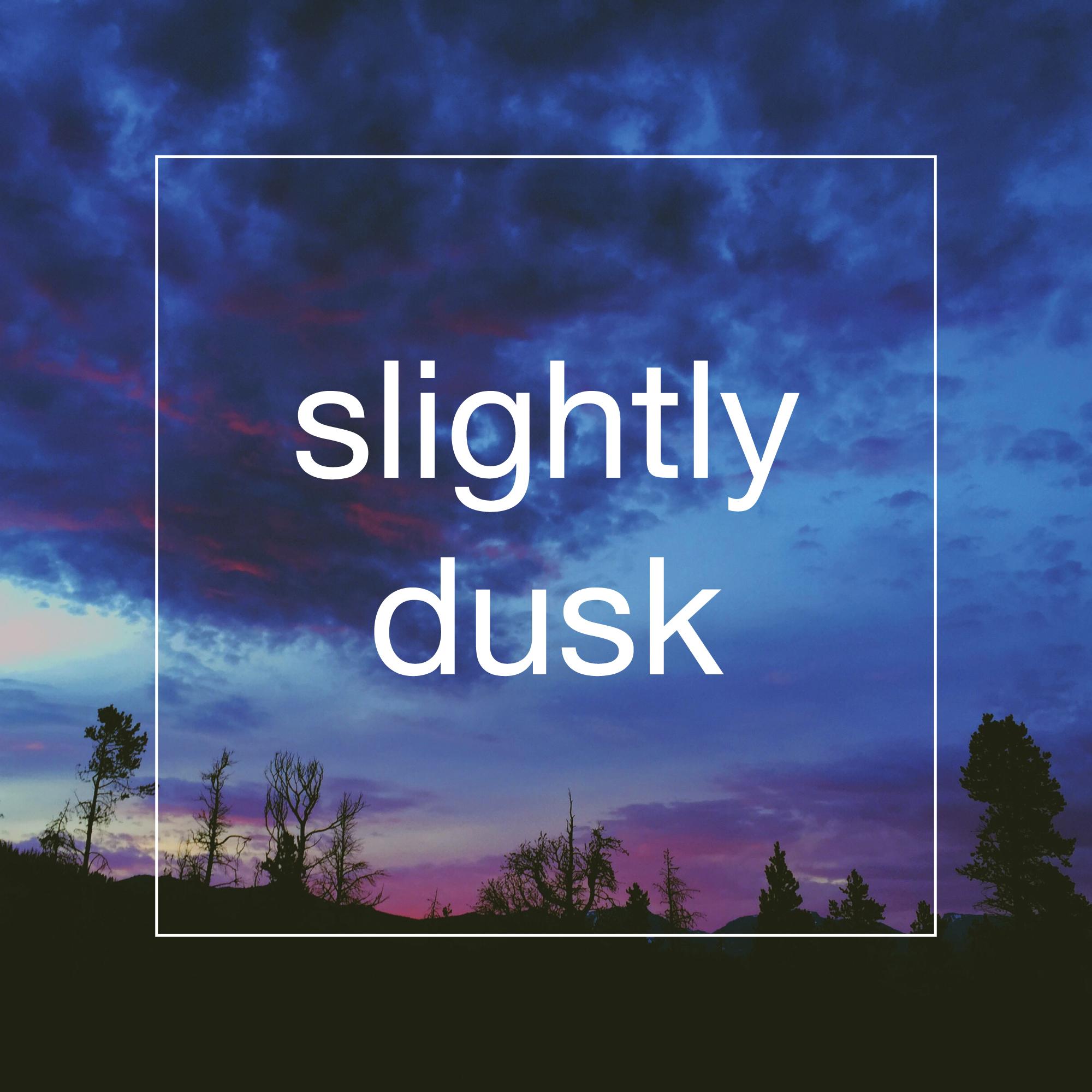 Slightly Dusk  /  Single  / November 4, 2015