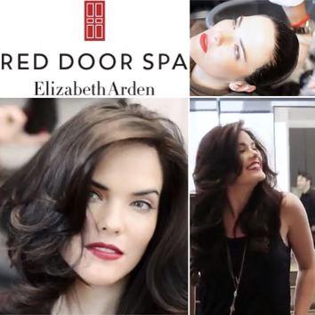 Promo Video Stills from Red Door Spa Shoot