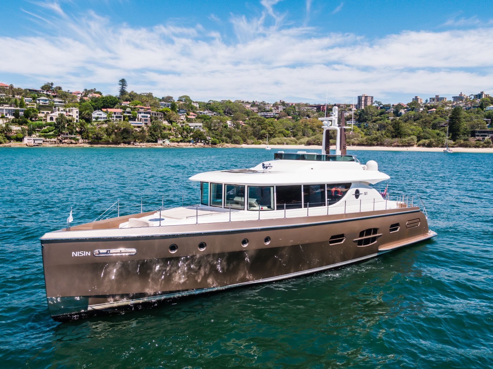 Nisi - Affordable superyacht luxury on Sydney Harbour.