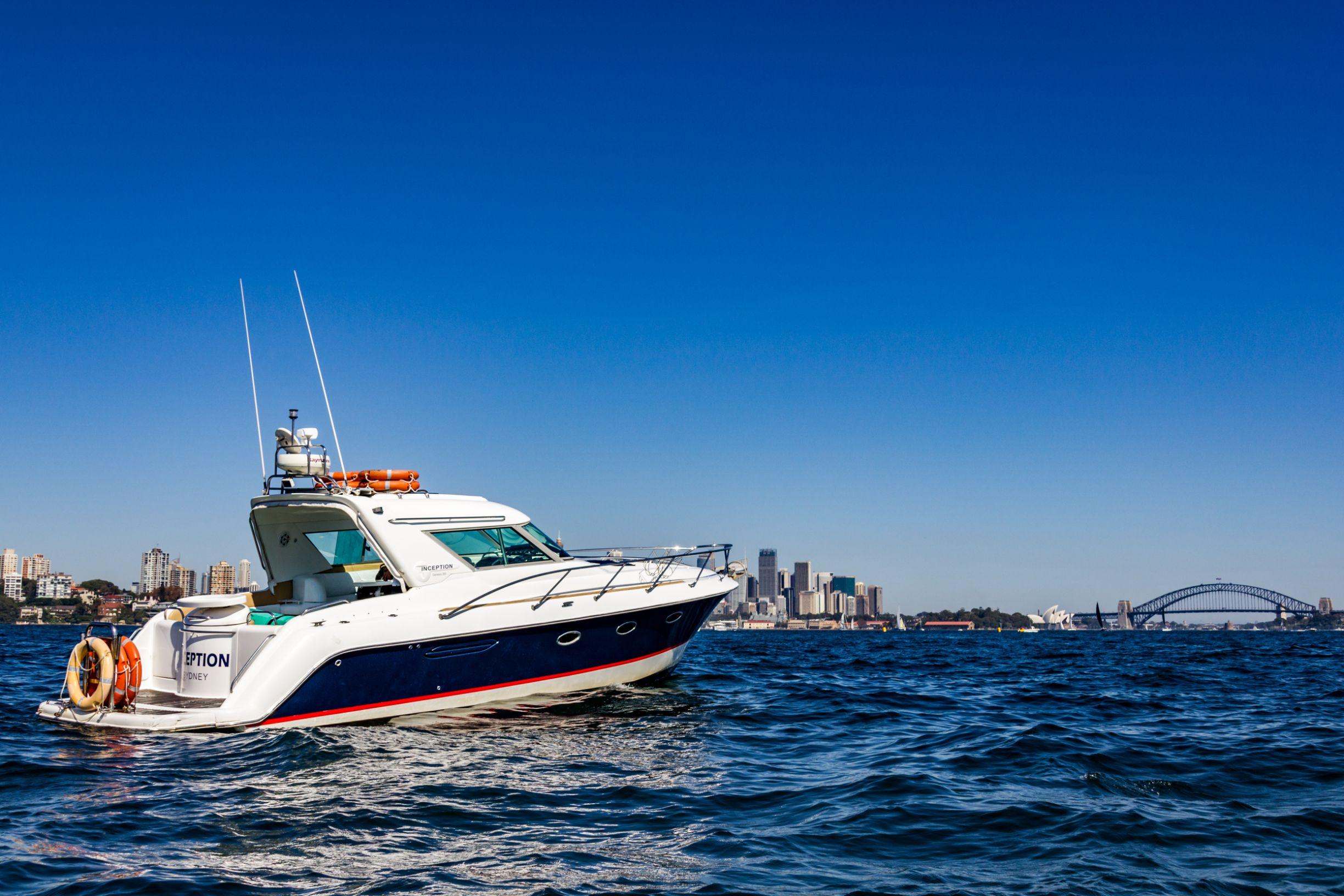 Inception - Zip around Sydney in style on this modern sports cruiser for small groups.