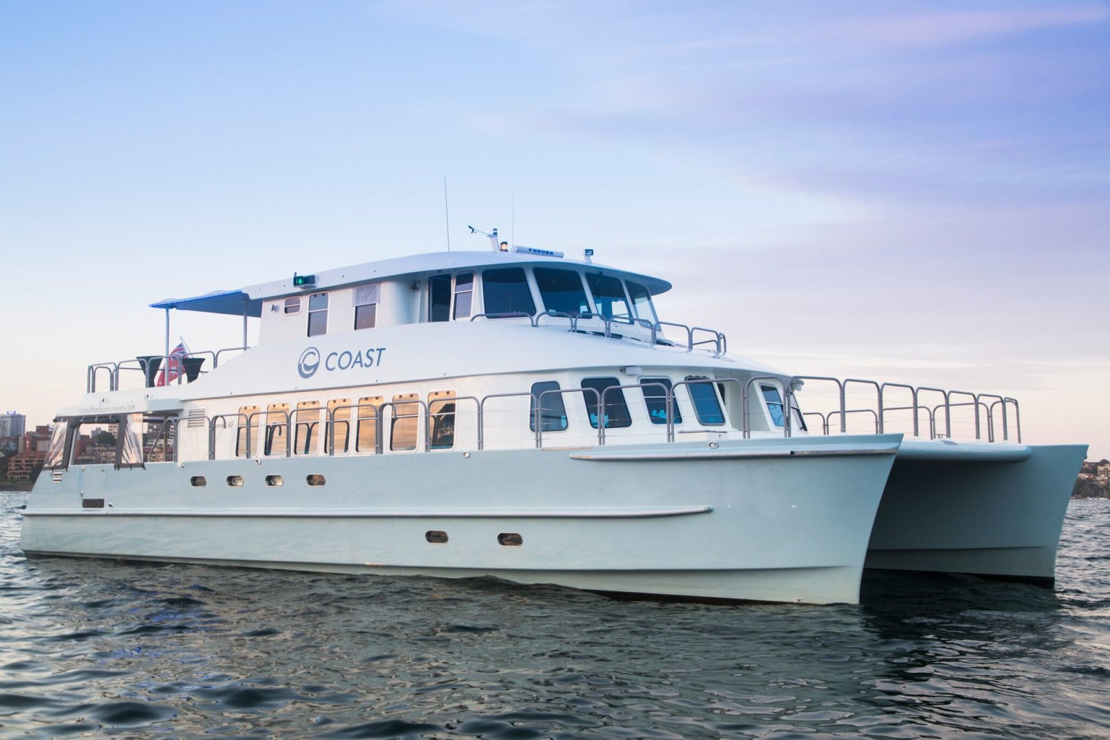 Coast - Big occasions on the water don't get much better than this excellent motor yacht.