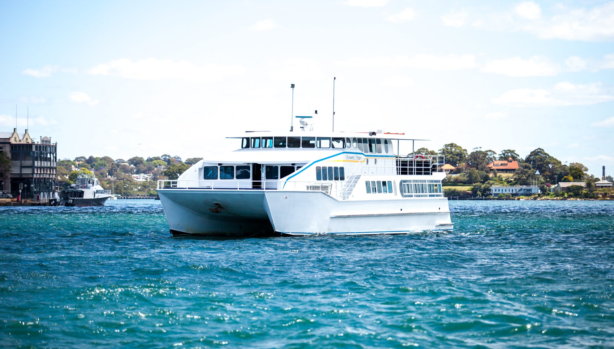 Eclipse - Multi-level catamaran experience that will leave a lasting impression on your guests.