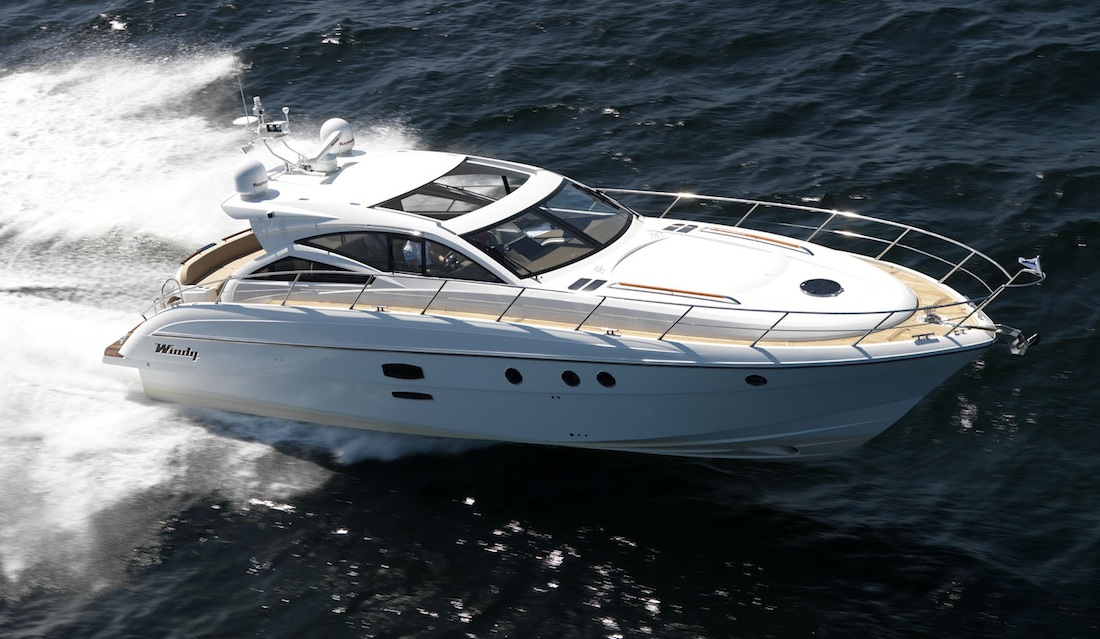 Birchgrove - Turn heads on the water aboard this unique luxury sports cruiser.