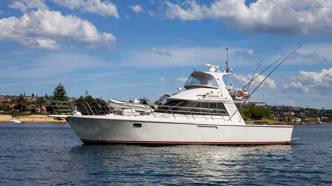 Yackatoon - Versatility is aim of the game – land the catch of a lifetime or cruise the harbour in style.