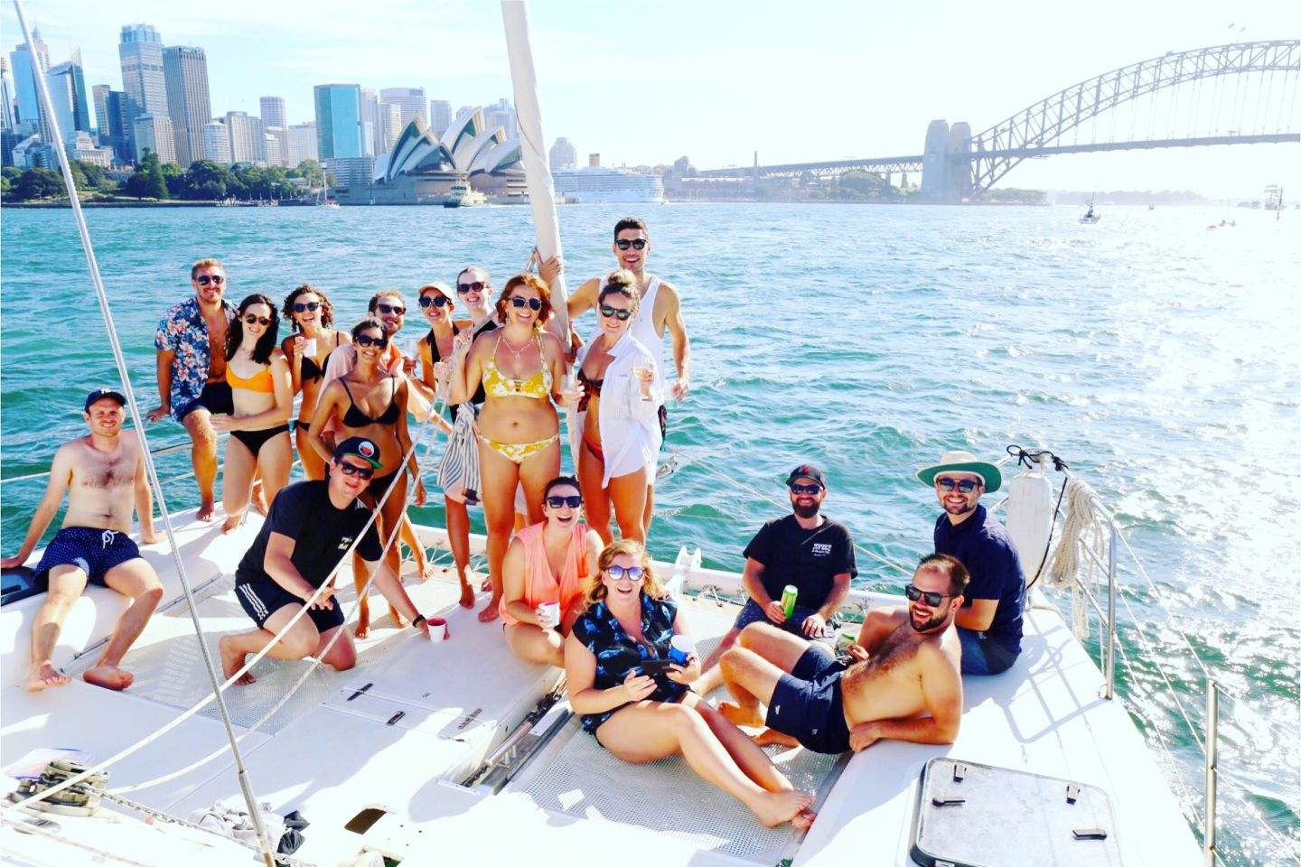 One Ocean - A sustainable approach to catamaran cruising around the pristine harbour.