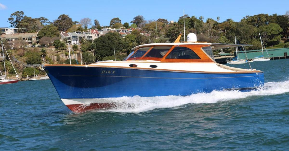 Akira - Cruise Sydney in style on this classic day boat that can be tailored to suit your needs.
