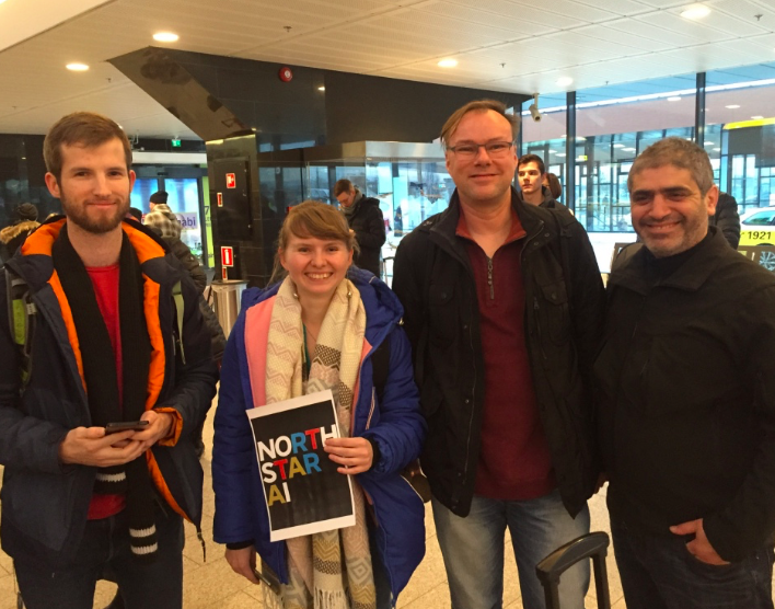 Data scientists from Google, Microsoft, Autodesk (Estonia Data Tech Tour) & NorthStar AI in Estonia January 2019.
