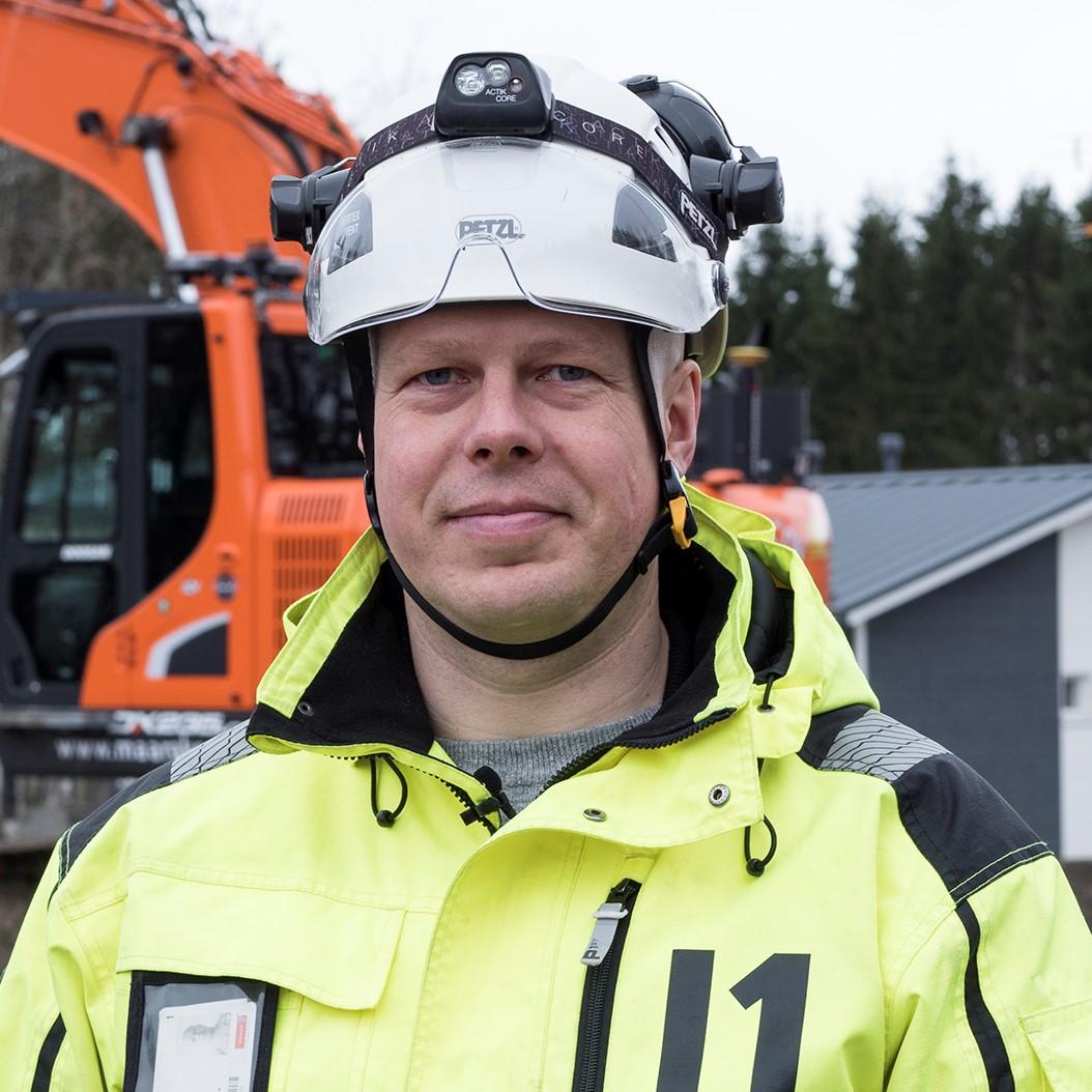 Työnjohtaja - Jonas Asplund