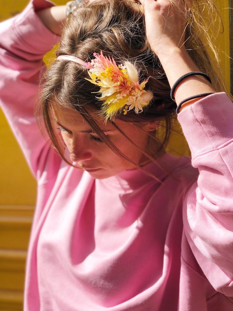 headband atelier Etam fleurs sechees.JPG