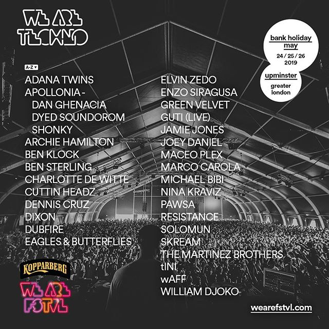 Not long now - 24.05.19 🙏 I am super excited for my first ELVIN ZEDO show where I will be playing House & Techno @wearefstvl  #house #techno #elvinzedo #techhouse