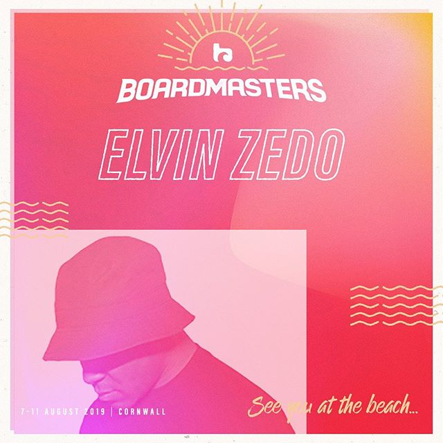 Cornwall 🇬🇧 Excited to be playing at this years @boardmasters official after party 🔥🔥 . . Tickets available through link in my bio 🙏 . . . #House #Techno #ElvinZedo