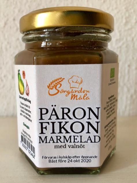 Päron Fikon marmelad