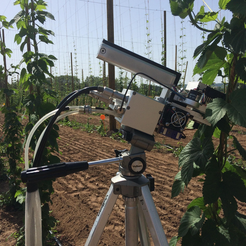 15 variétés sous haute surveillance - De la haute technologie à l'écoute de la photosynthèse