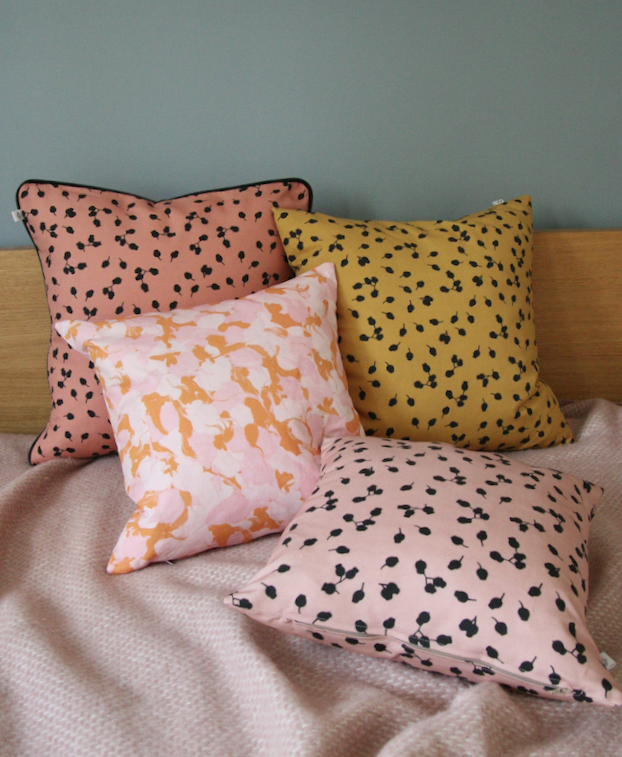 Nuts and Marble pillows