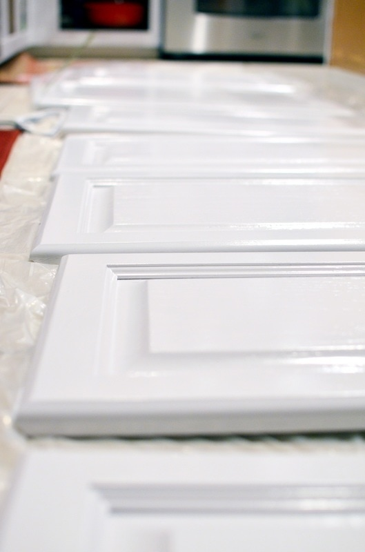 This is just Behr's White Semi-Gloss Alkyd Enamel. It worked very nice and looks really good eh?