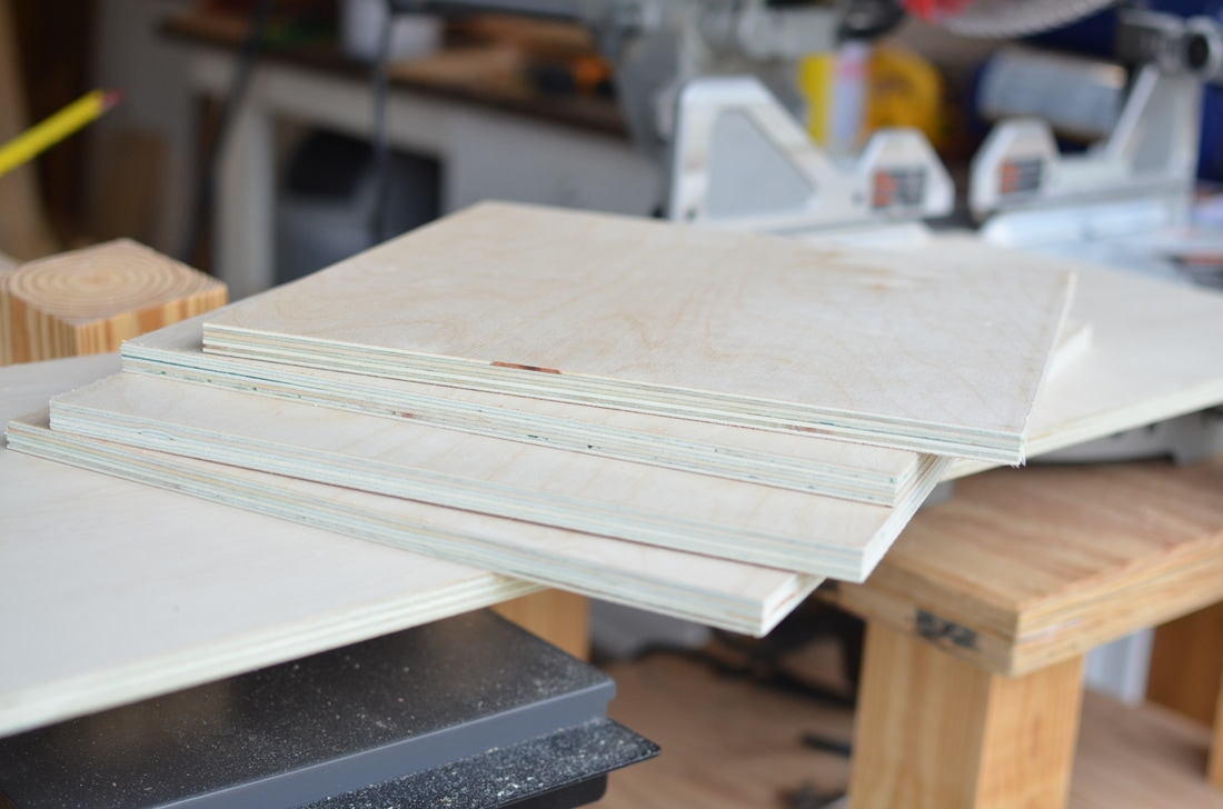 """I cross-cut this 8' section into two pieces 17 3/4"""" and two pieces a little under 12""""."""