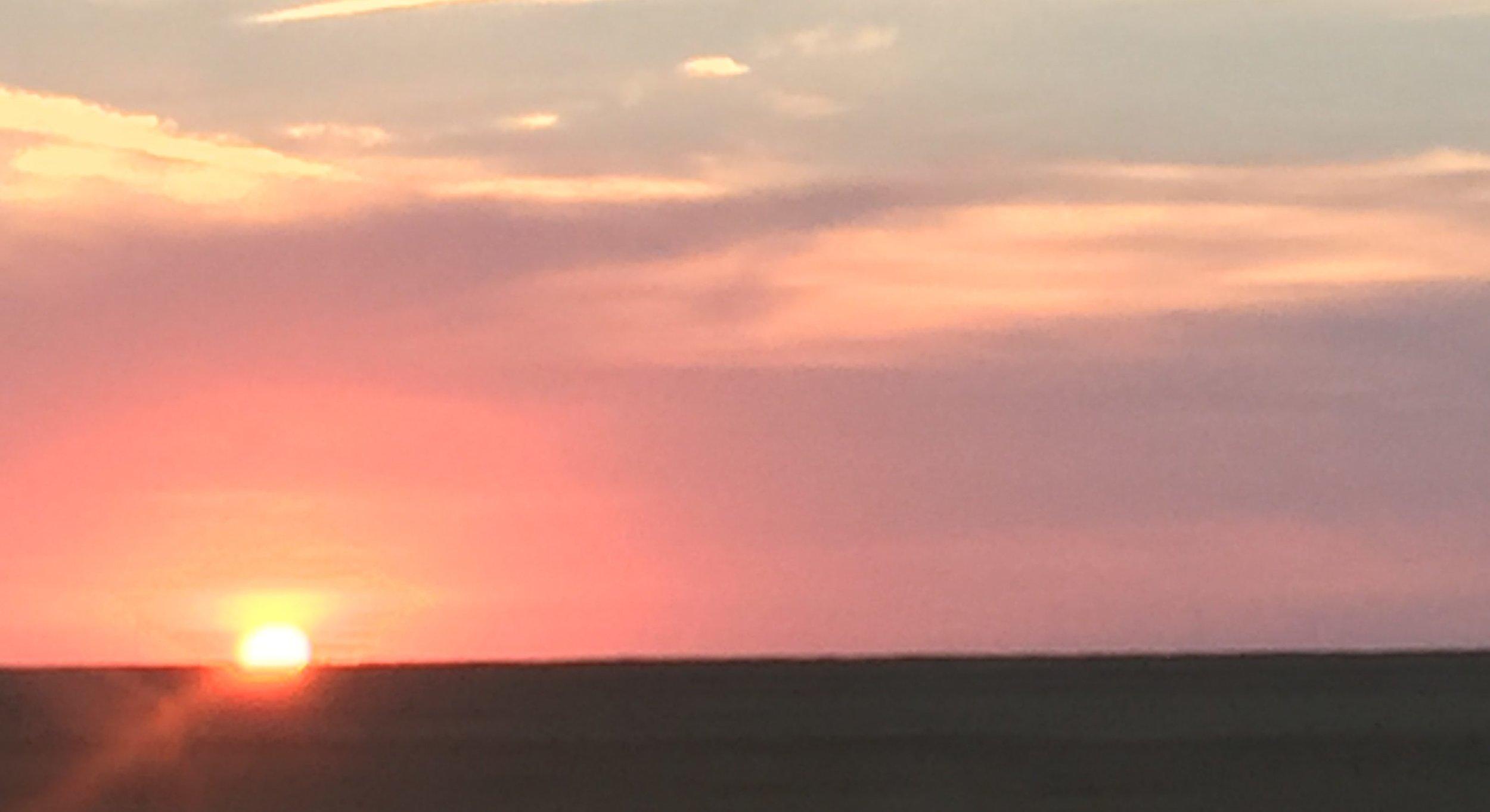 A Kansas sunrise