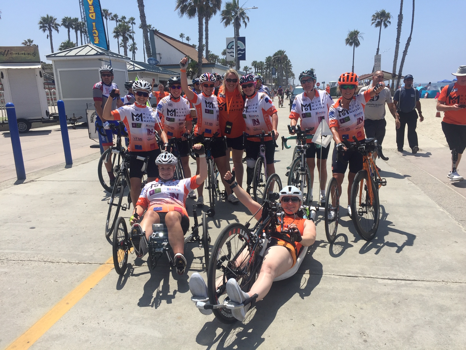 Mind Over Matter at the RAAM 2019 start line.