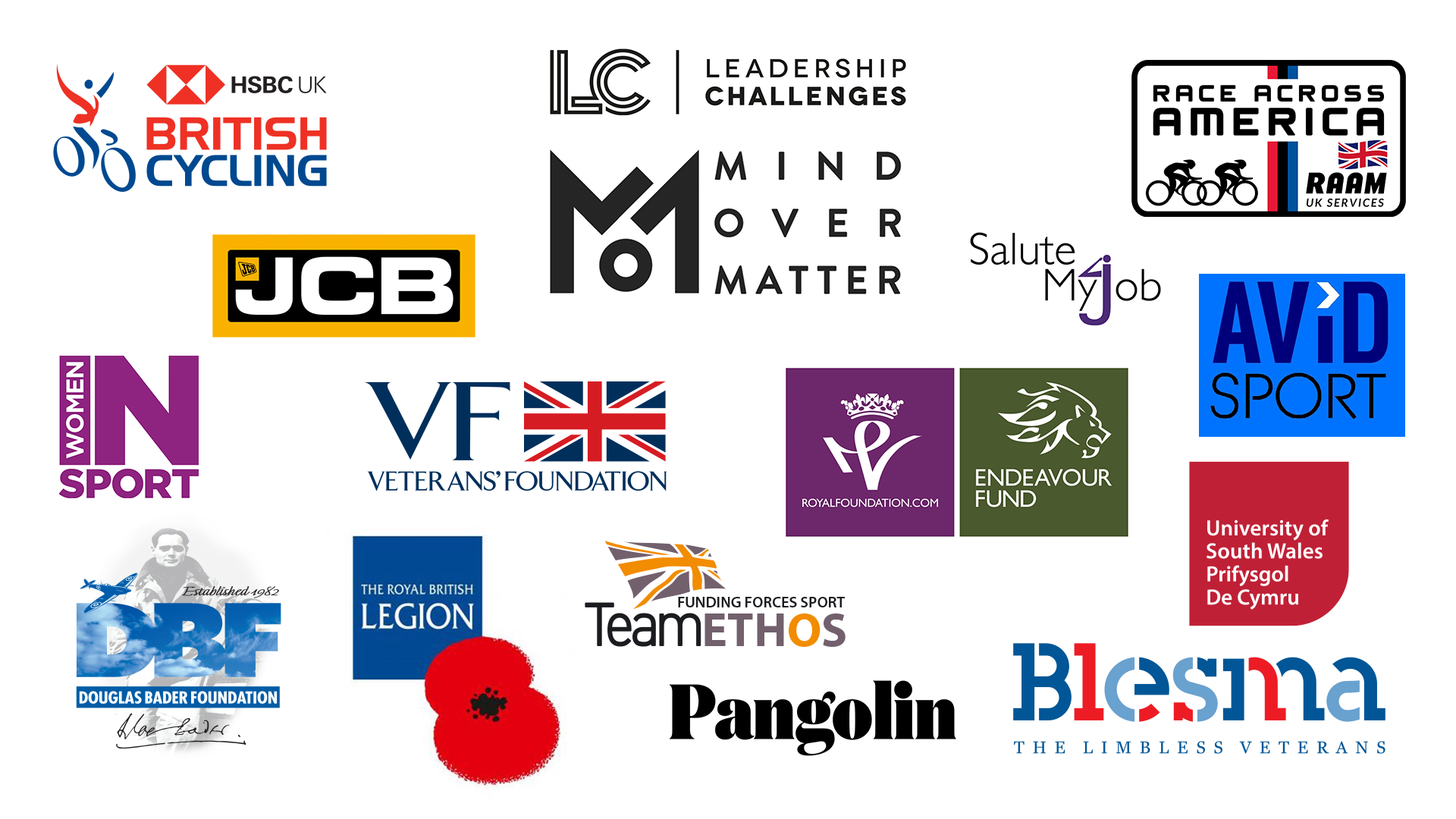 The Mind Over Matter sponsors.