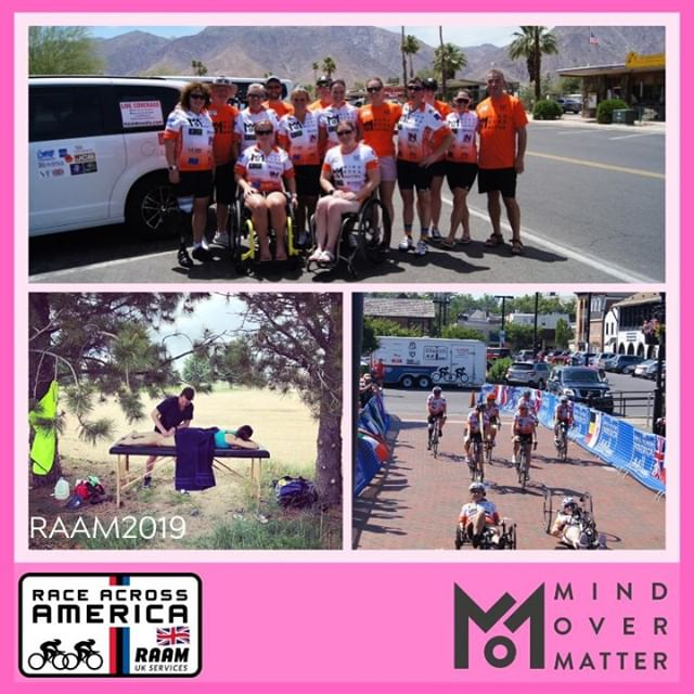 Shout out to @beyondinjury physiotherapy for supporting team @momraam during their @raamraces 2019 journey🙌  Following the team across 12 states, over 8 days, @beyondinjury were vital in helping our inspirational women achieve the extraordinary!💪🚴♀️🚴♀️🚴♀️ #feelgoodfriday #raam2019 #mindovermatter