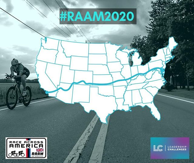 The @RAAMRaces route travels from the Pacific to Atlantic coast of America 🇺🇸 : ⛰Traversing three major mountain ranges - Sierra, Rocky, and Appalachian. 🚴‍♂️Crossing four of America's longest rivers. 🏜 Passing iconic American landmarks such as the Monument Valley.  To be part of this challenge of a lifetime, register your interest by clicking the link in our bio.  #wednesdaywisdom #RAAM2020 #inspiringtomorrowsleaderstoday