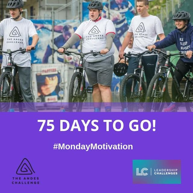 Andes Challenge Update: Not long now until our Young Mentors leave for Chile! As the nights get darker, the countdown begins for the 300 mile cycle ride through the Andes mountains. 😁 🏔 🚵‍♀️🚵‍♂️ The team are working hard as they get ready for a trip of a lifetime!🙌 #mondaymotivation #inspiringtomorrowsleaderstoday #changinglives