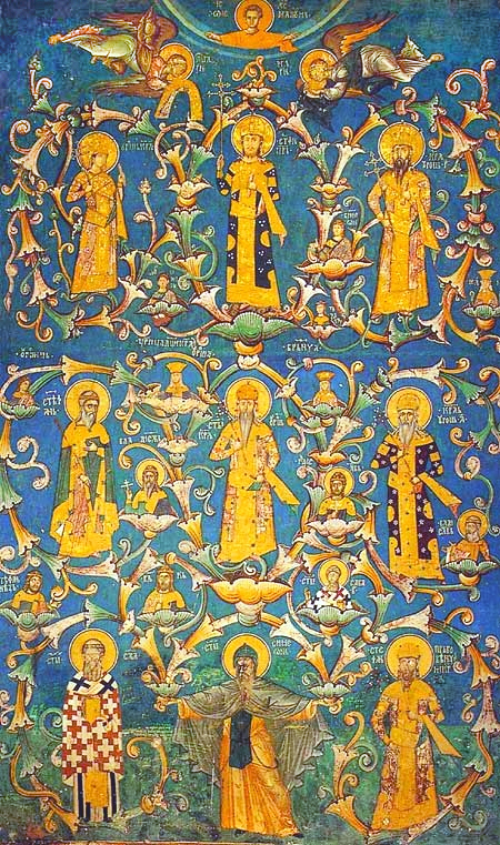 Loza Nemanjića, manastir Visoki Dečani, Foto: Wikipedia